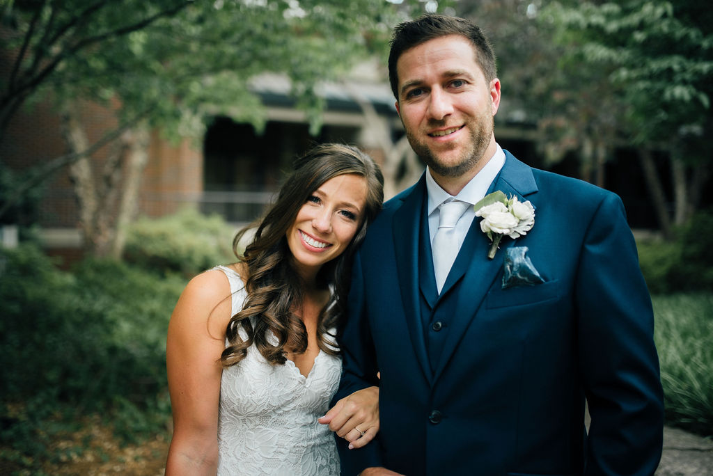 Wedding portrait for Intimate Nashville wedding