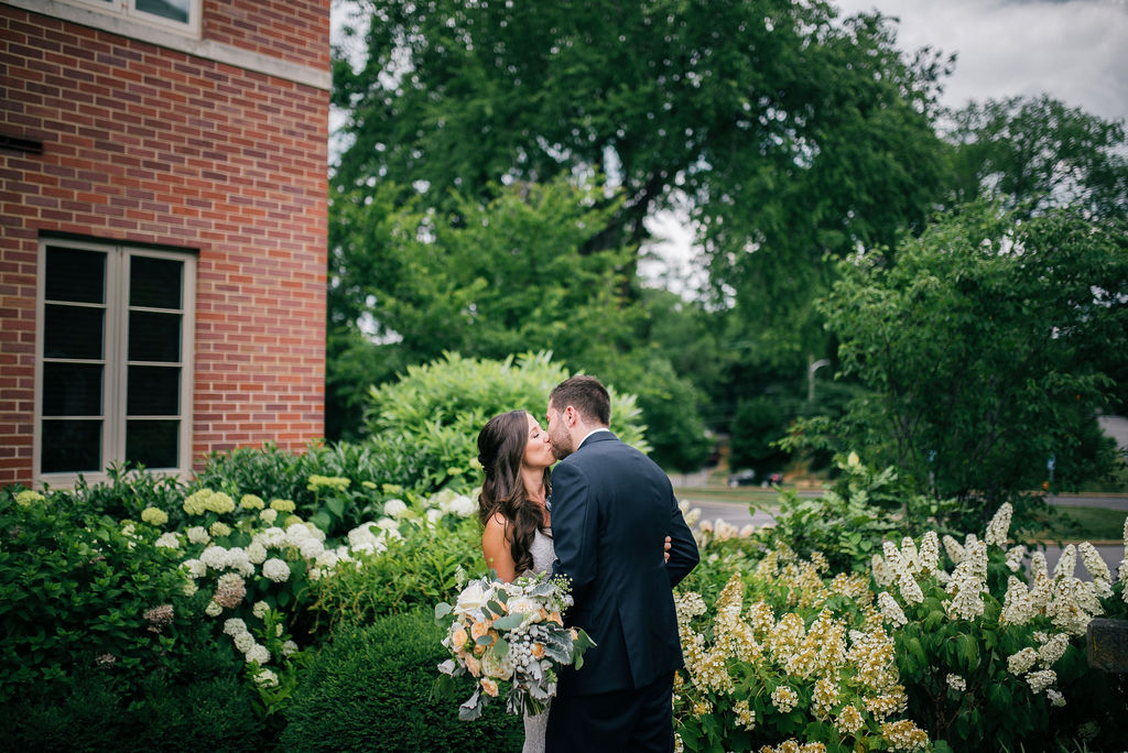 Outdoor wedding photos for Intimate Nashville wedding