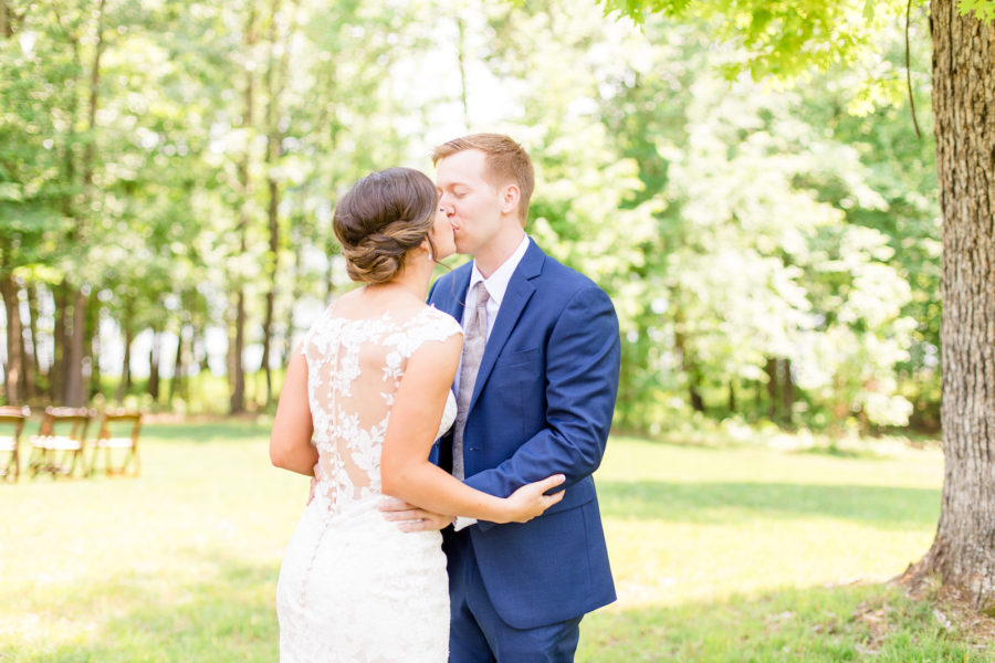 Why I Regret Not Doing A First Look by Lindsey Brown Photography featured on Nashville Bride Guide