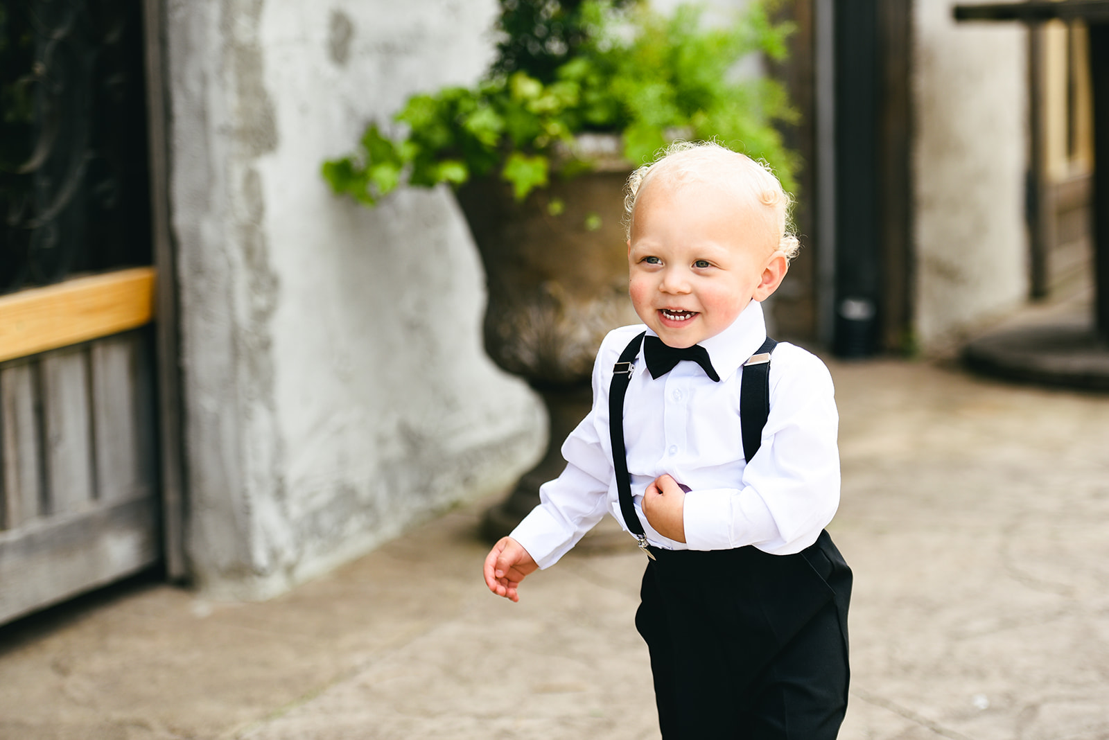 Ring bearer: Elegant Cason Cove Wedding featured on Nashville Bride Guide