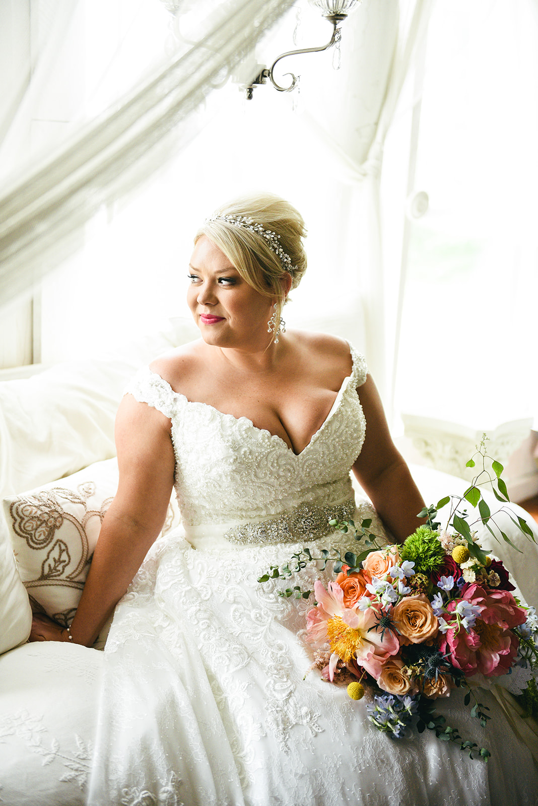 Bridal portrait: Elegant Cason Cove Wedding featured on Nashville Bride Guide