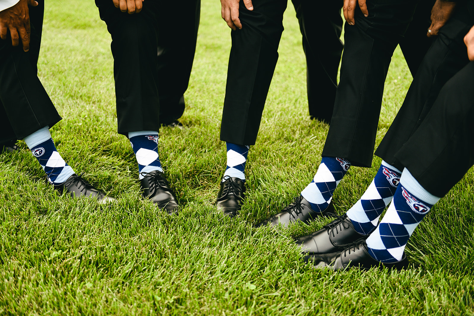 Groomsmen socks: Elegant Cason Cove Wedding featured on Nashville Bride Guide