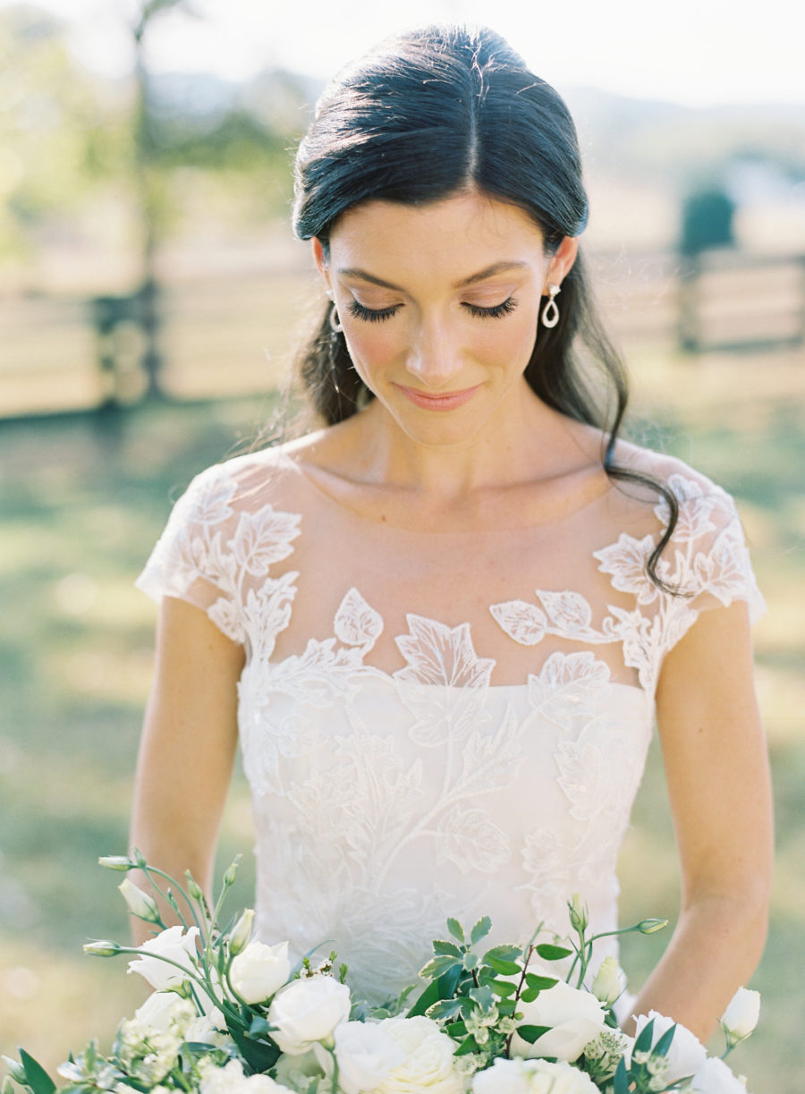 Bridal portrait captured by Nathan Westerfield for Nashville wedding