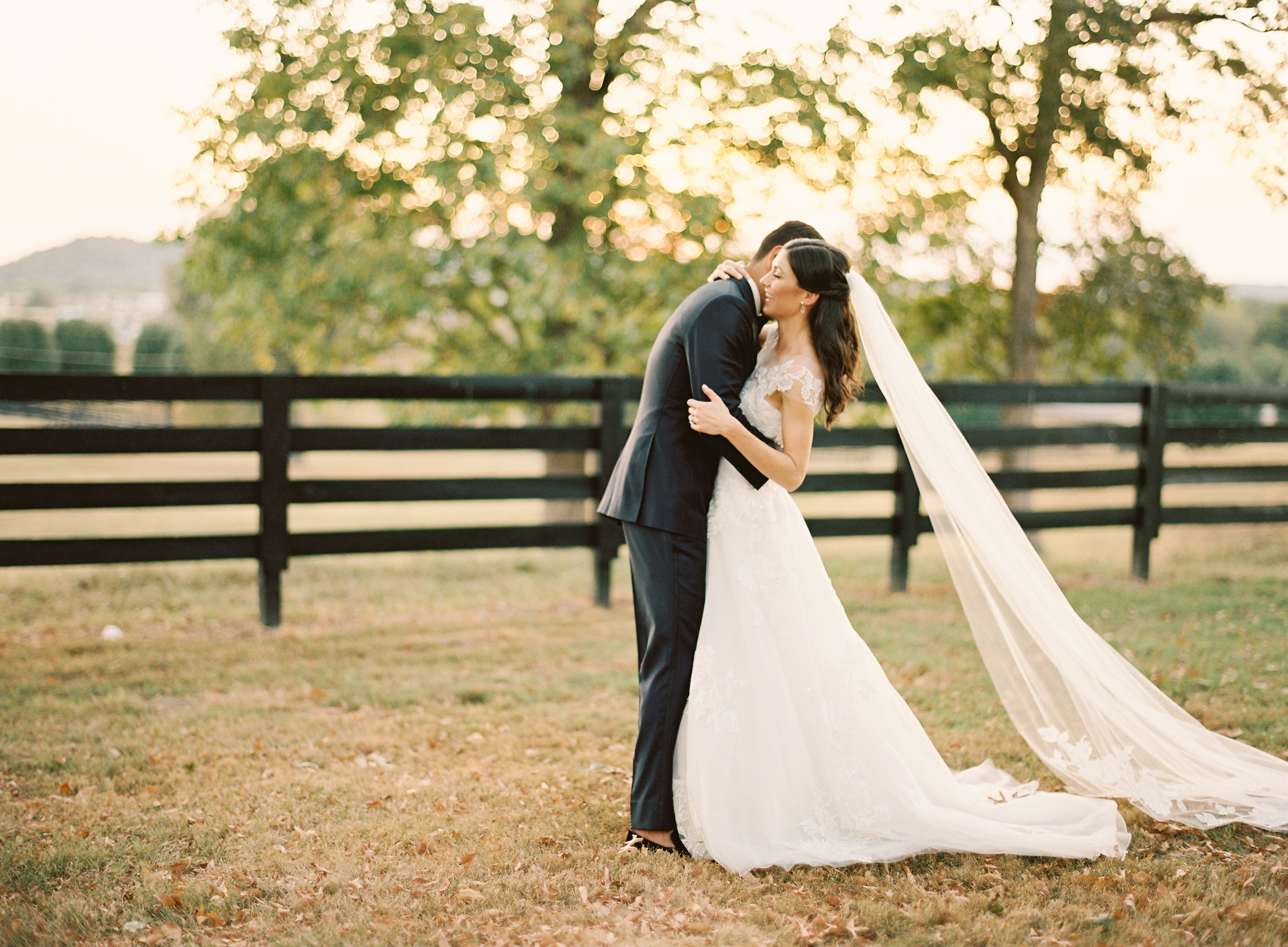 Fall Nashville wedding at Autumn Crest Farm featured on Nashville Bride Guide