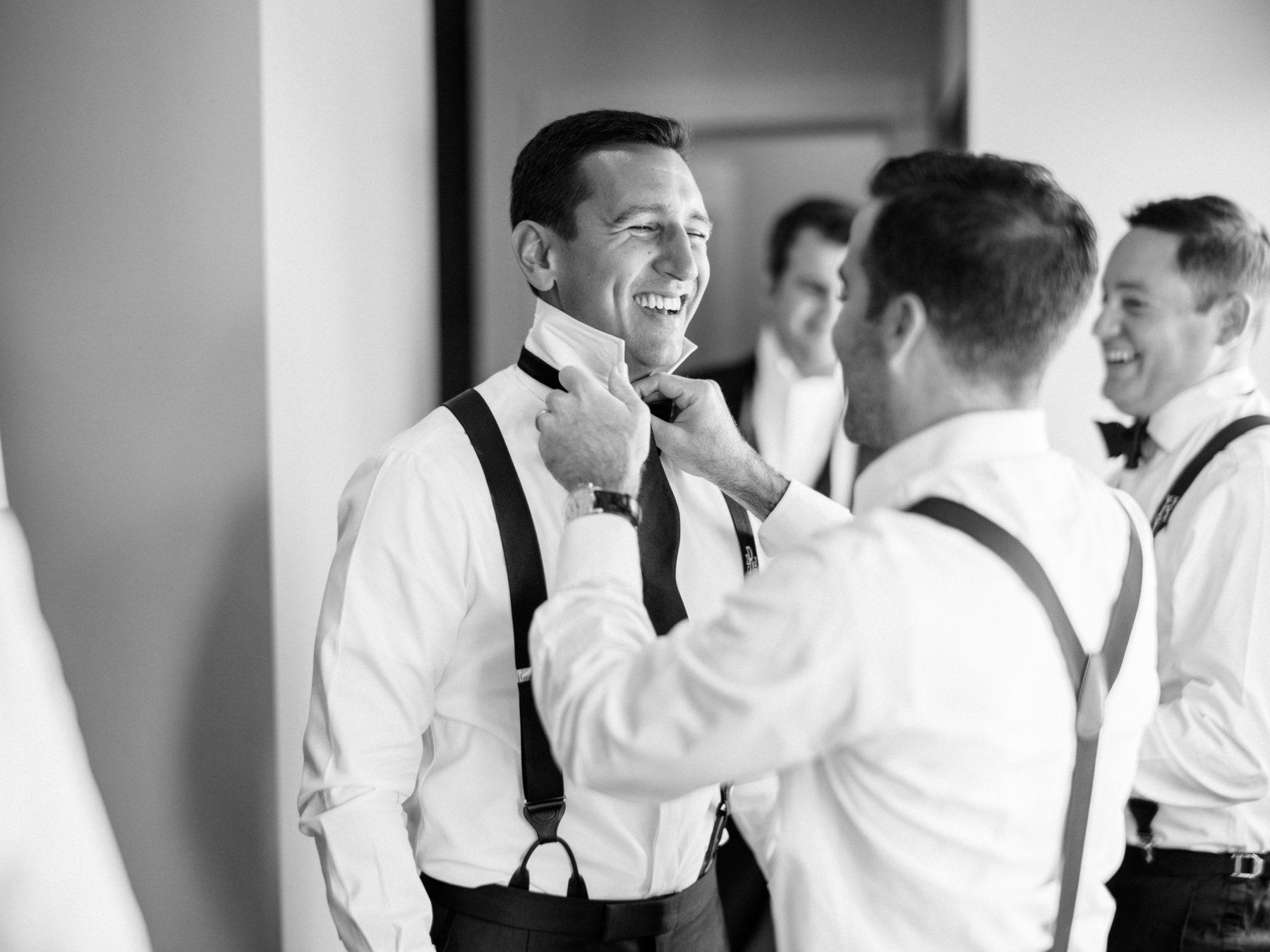 Modern grooms attire for fall Nashville wedding