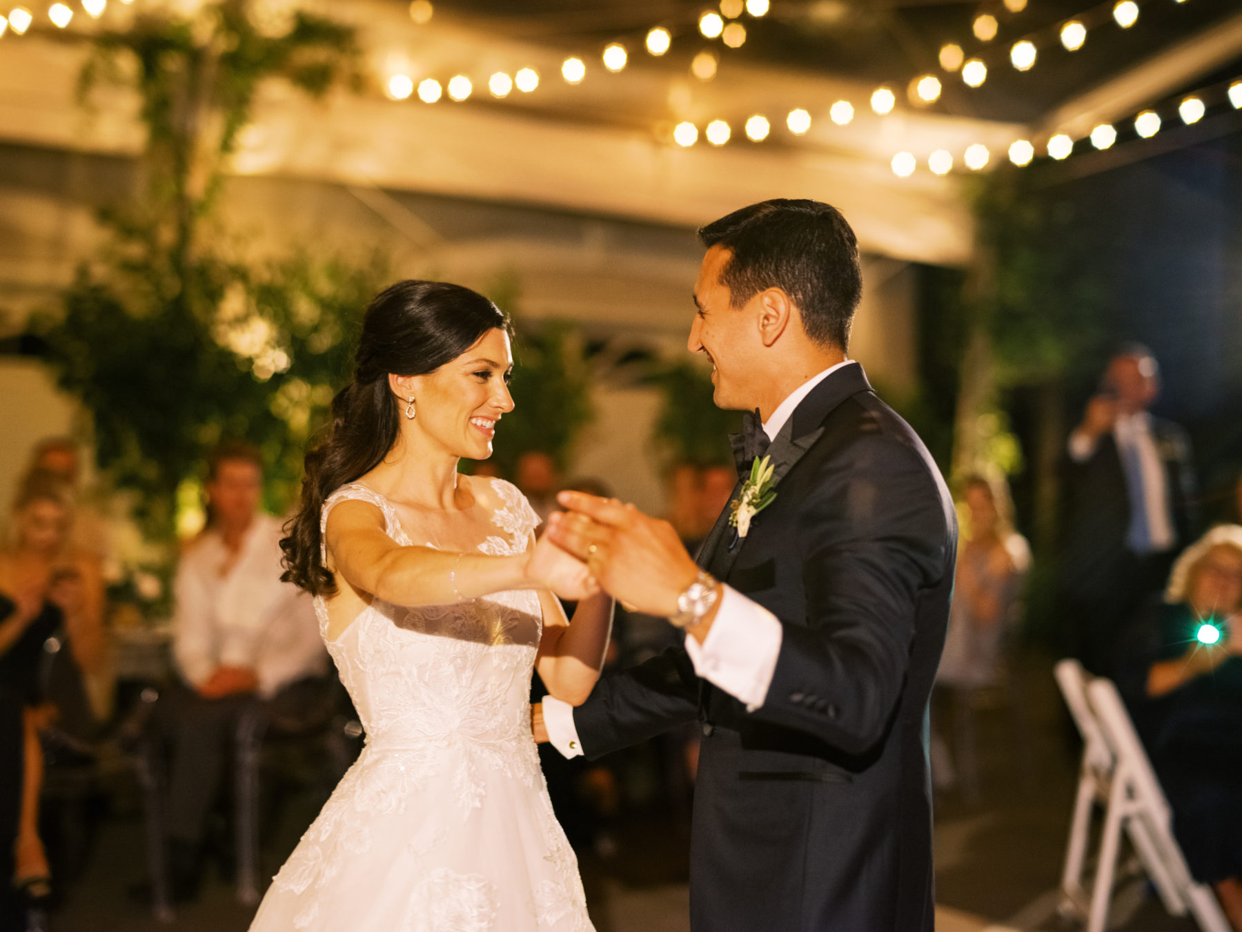 Bride and groom's first dance captured by Nathan Westerfield