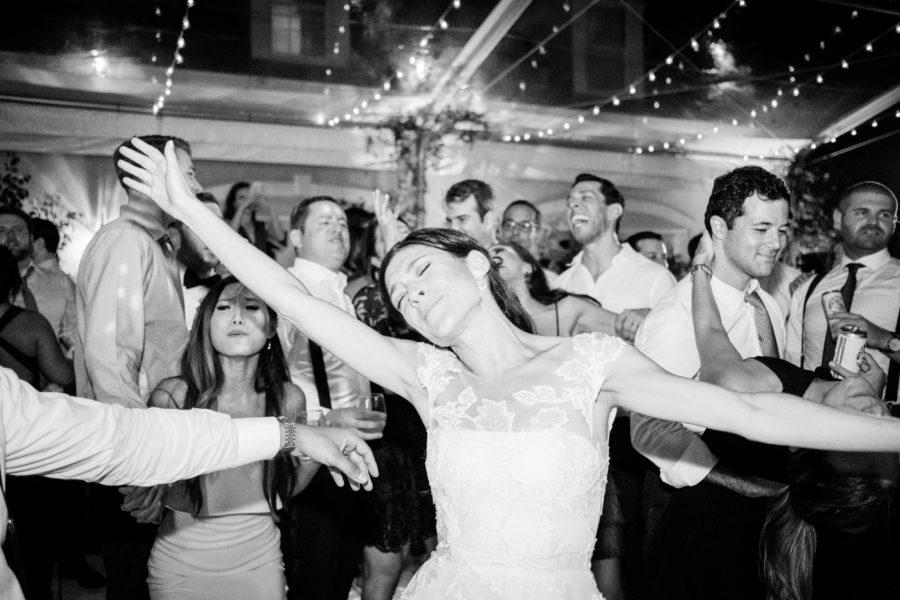 Wedding dancing at Autumn Crest Farm Wedding