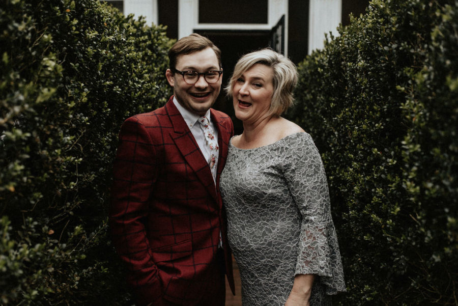 Mother of the groom and groom: Magical Winter Wedding by Meghan Melia Photography featured on Nashville Bride Guide!