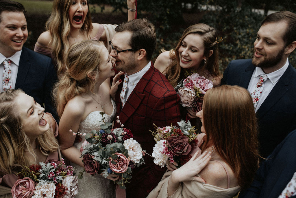 Magical Winter Wedding featured on Nashville Bride Guide!