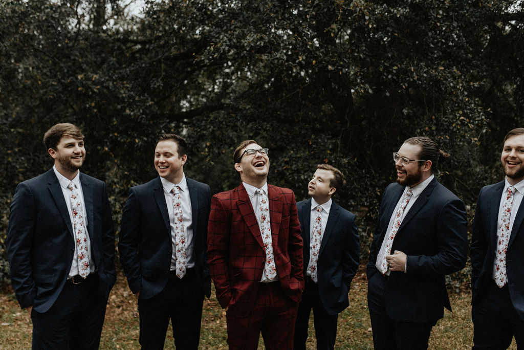 Groomsmen attire: Magical Winter Wedding featured on Nashville Bride Guide!