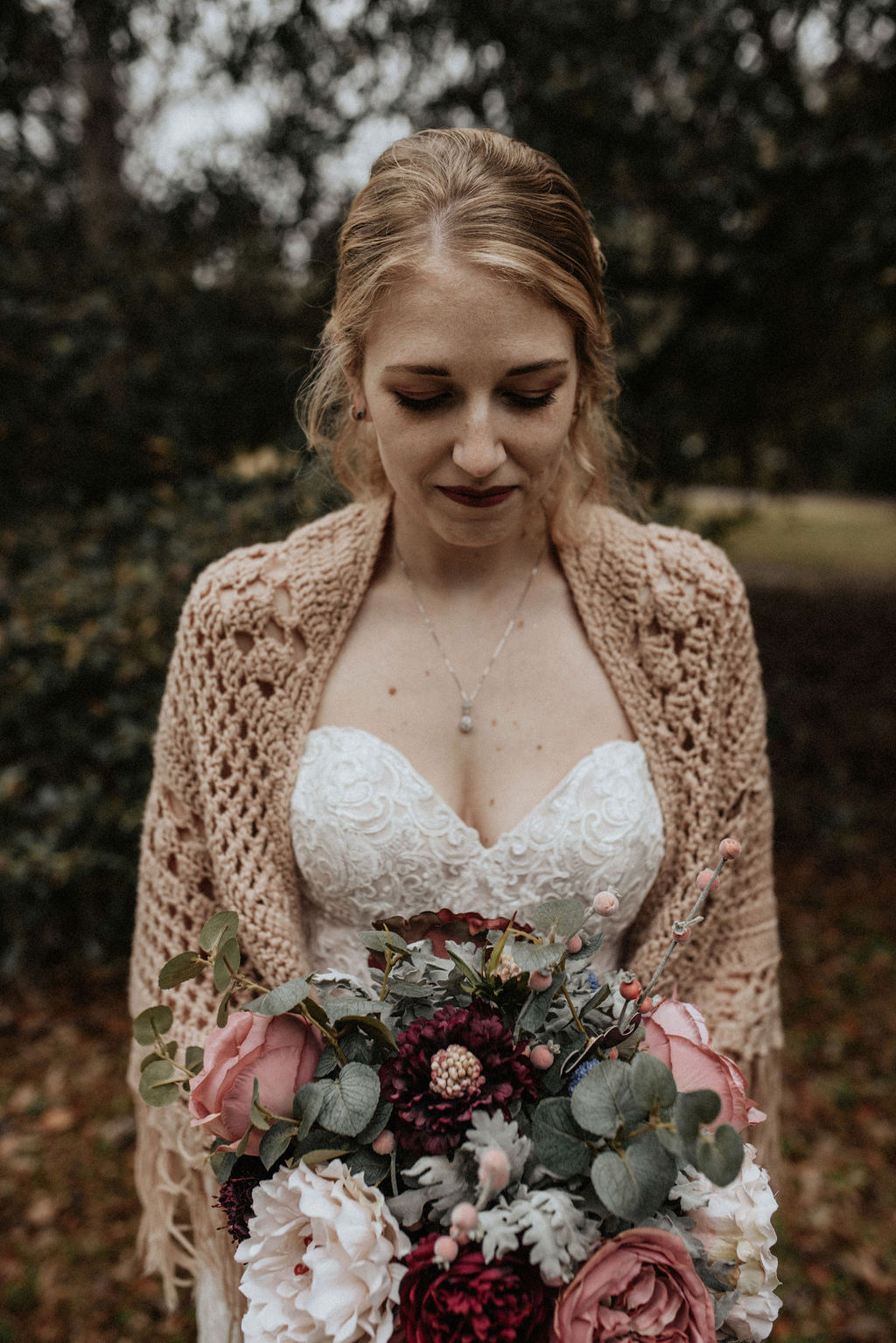 Bridal portrait: Magical Winter Wedding by Meghan Melia Photography featured on Nashville Bride Guide!