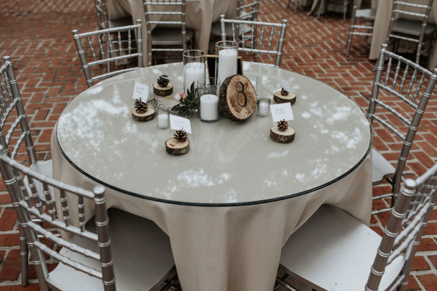 Wedding table display: Magical Winter Wedding by Meghan Melia Photography featured on Nashville Bride Guide!