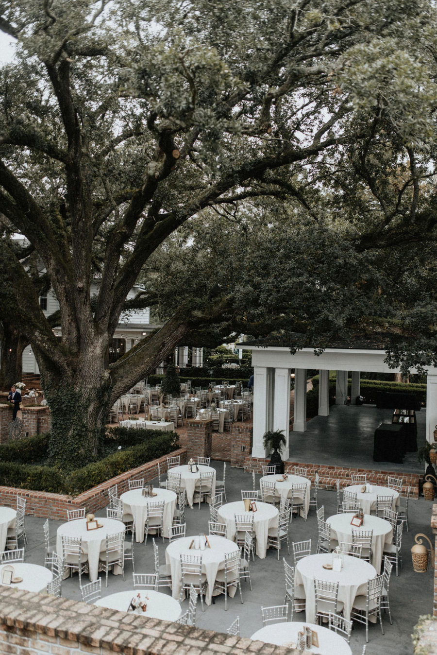 Outdoor wedding reception: Magical Winter Wedding by Meghan Melia Photography featured on Nashville Bride Guide!