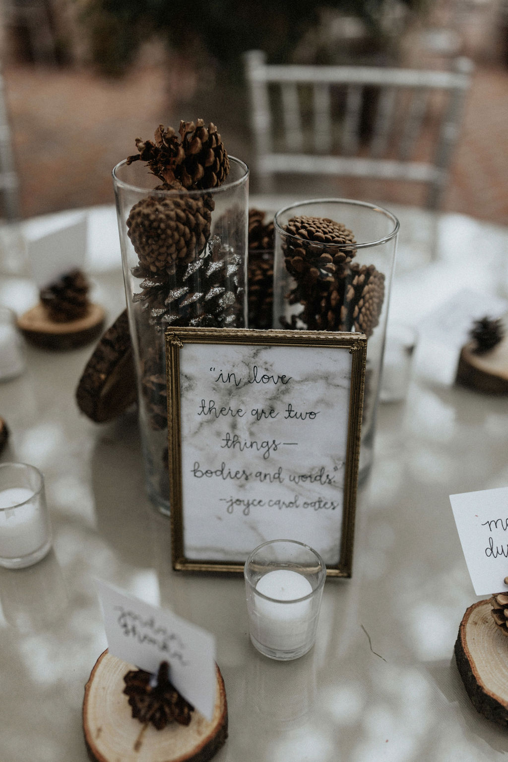 Wedding centerpieces: Magical Winter Wedding by Meghan Melia Photography featured on Nashville Bride Guide!
