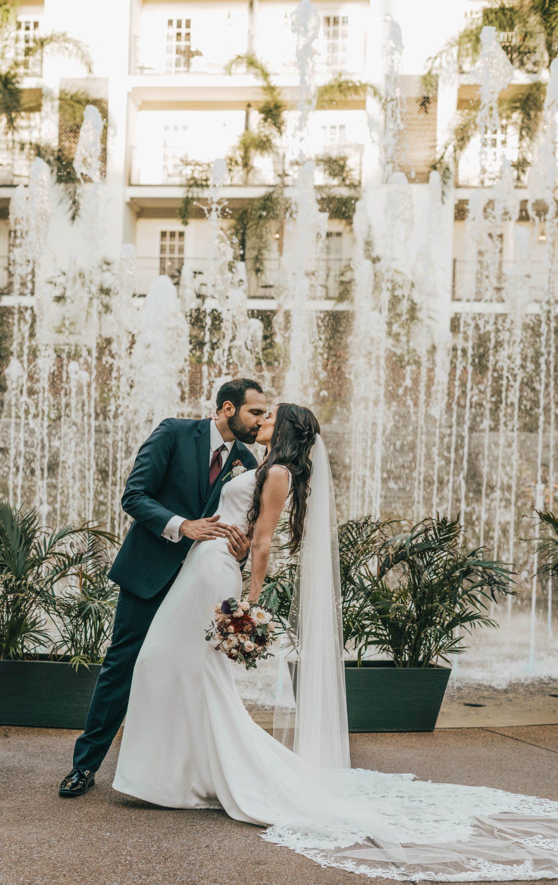 Opryland Wedding Portrait featured on Nashville Bride Guide
