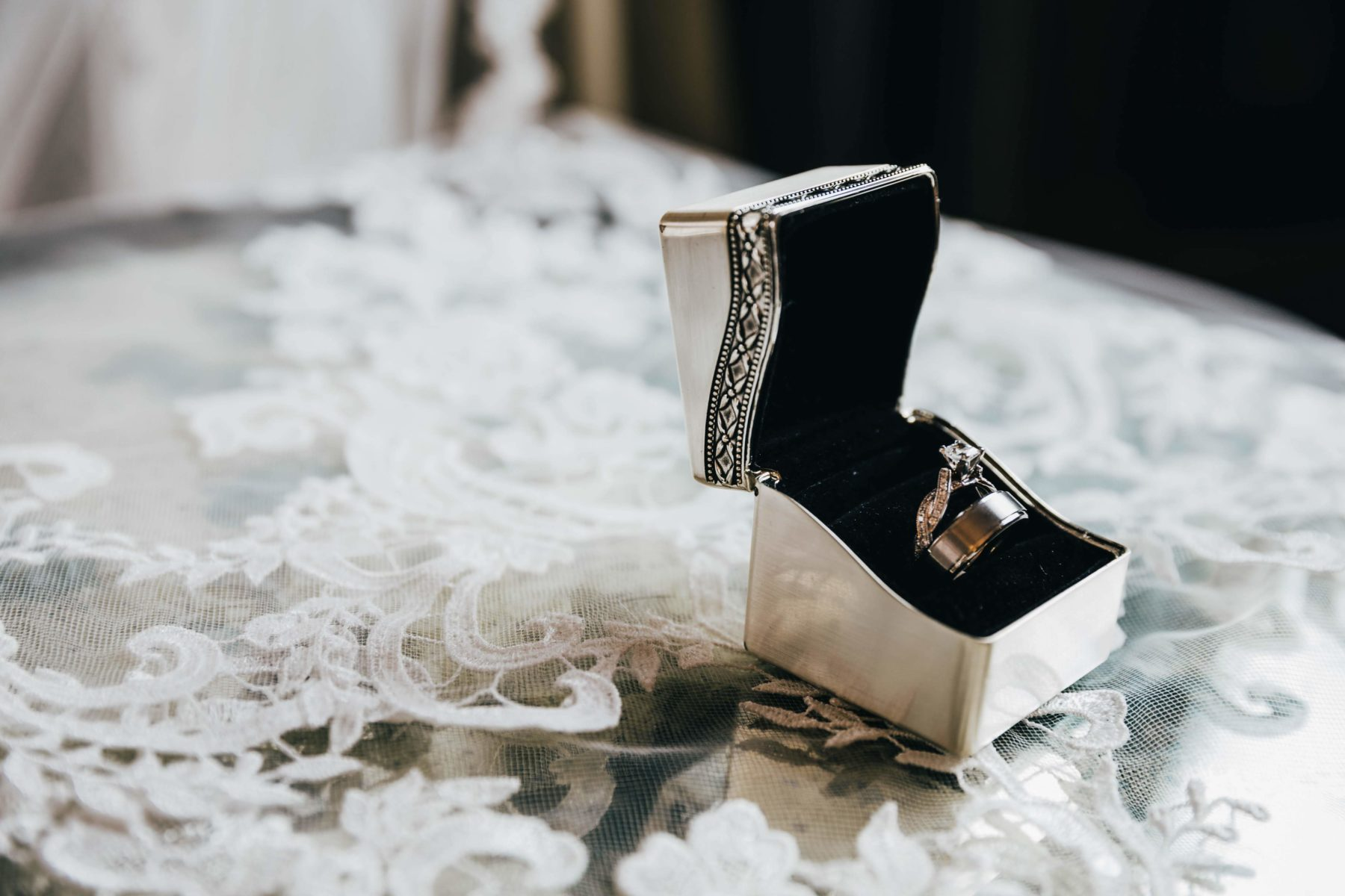 Wedding and Engagement Rings captured by Grace Upon Grace Photography