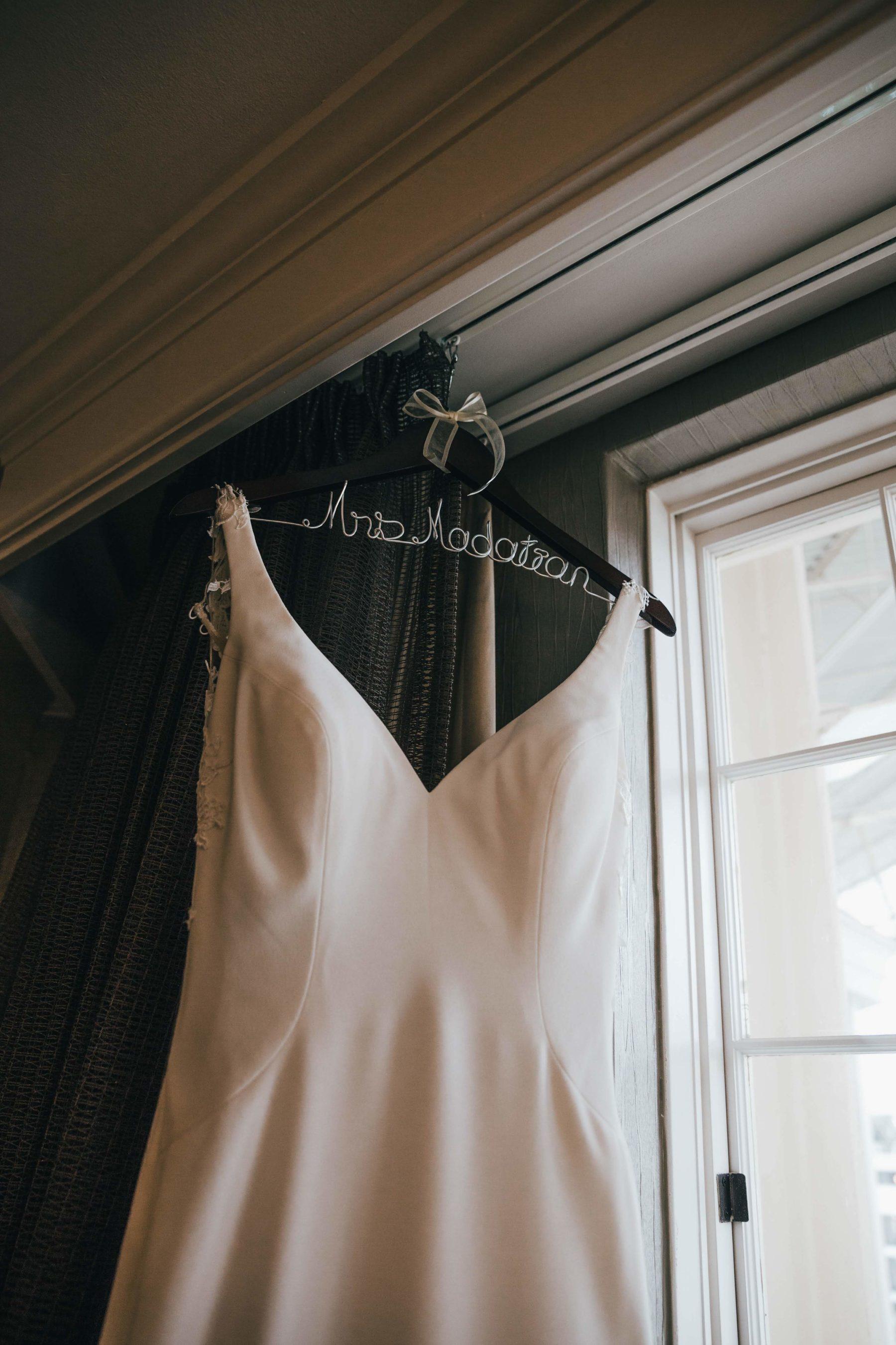 Wedding Dress Portrait captured by Grace Upon Grace