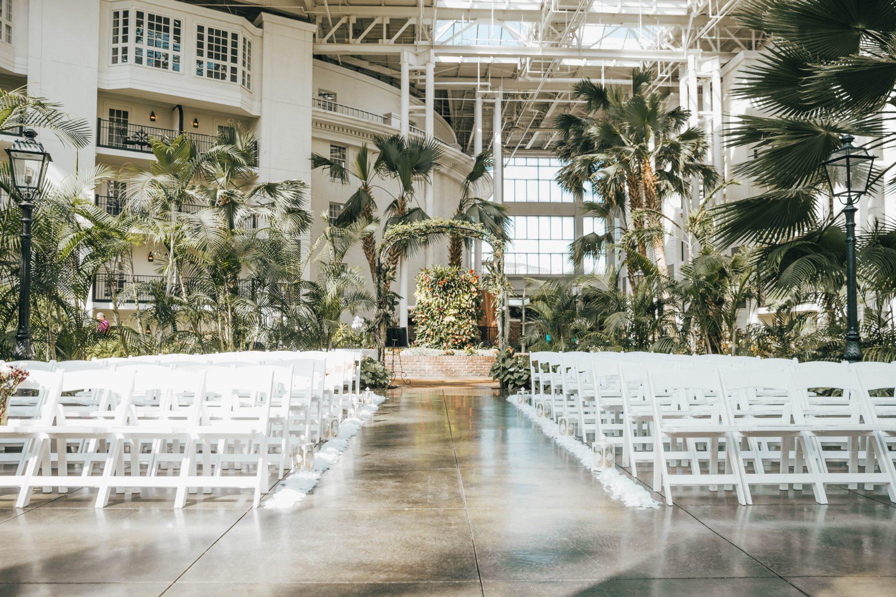 Opryland Wedding Ceremony Inspiration