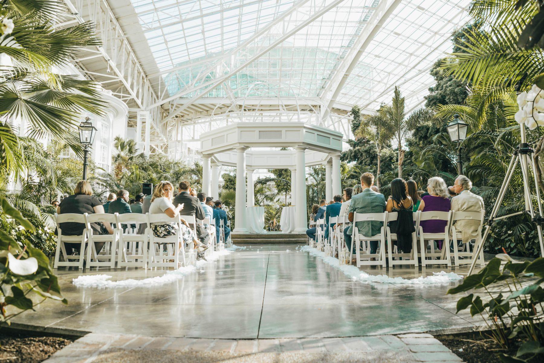 Opryland Wedding Ceremony Inspiration featured on Nashville Bride Guide