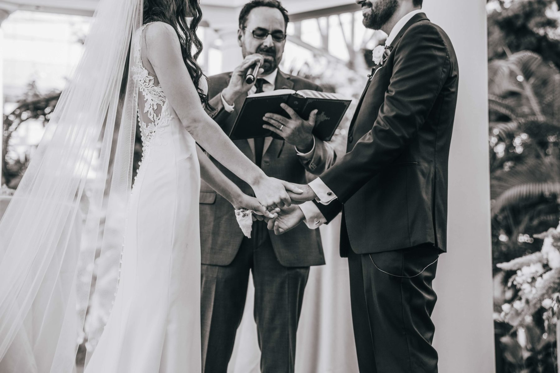 Wedding ceremony portrait for Opryland Wedding