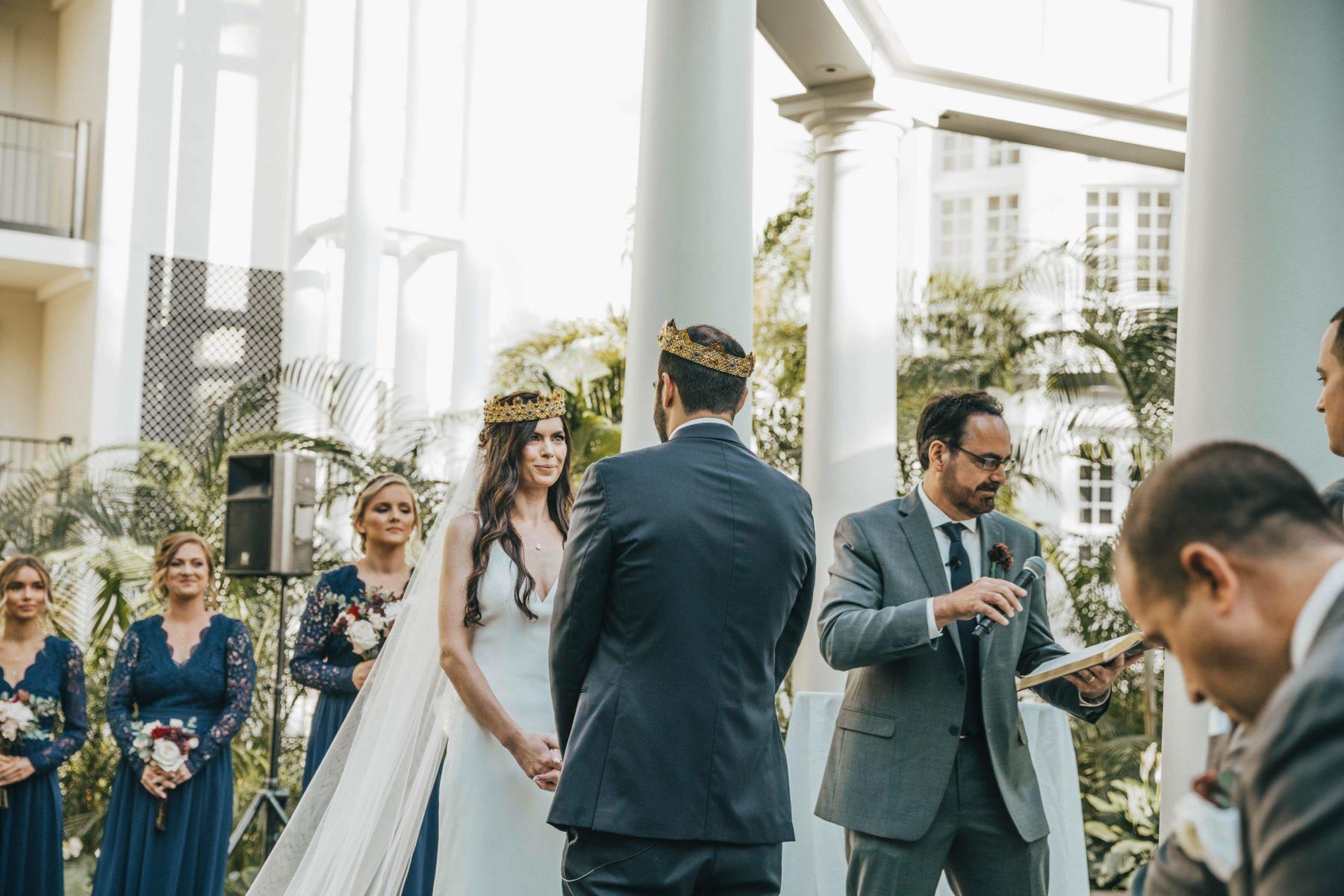 Opryland Wedding Ceremony featured on Nashville Bride Guide