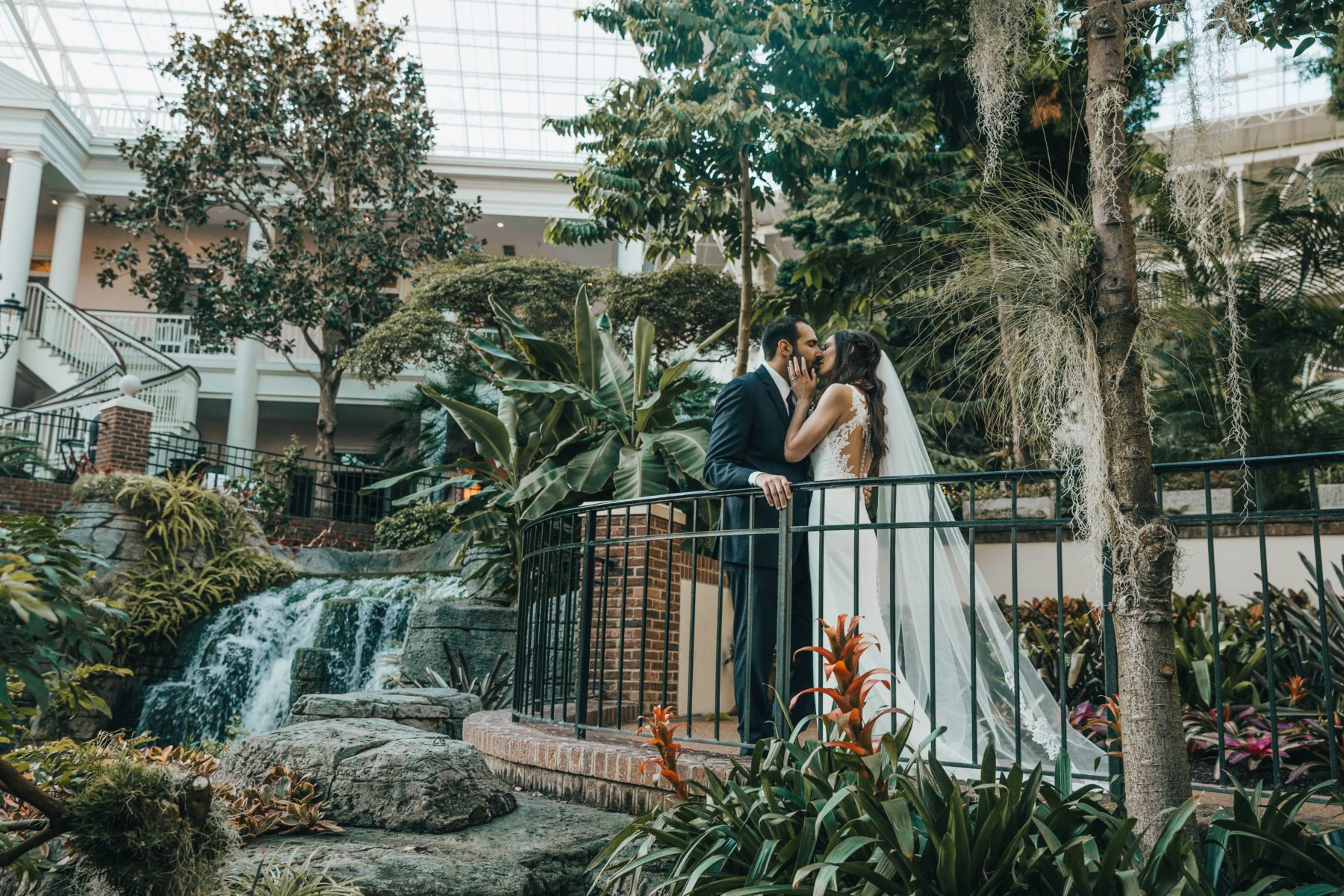 Opryland Wedding Portrait by Grace Upon Grace