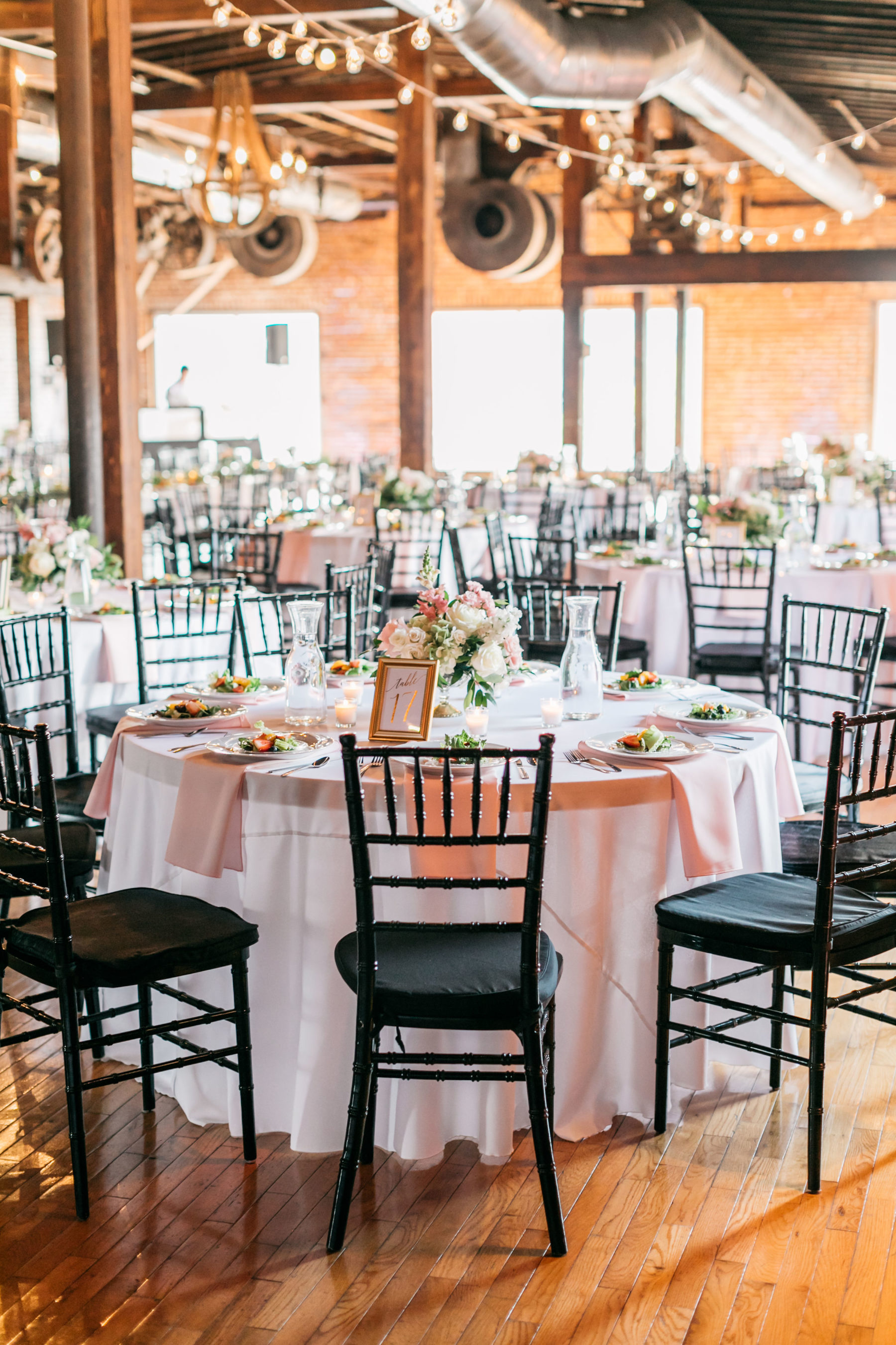 Wedding reception decor: Simply Elegant Nashville Wedding captured by Meredith Teasley