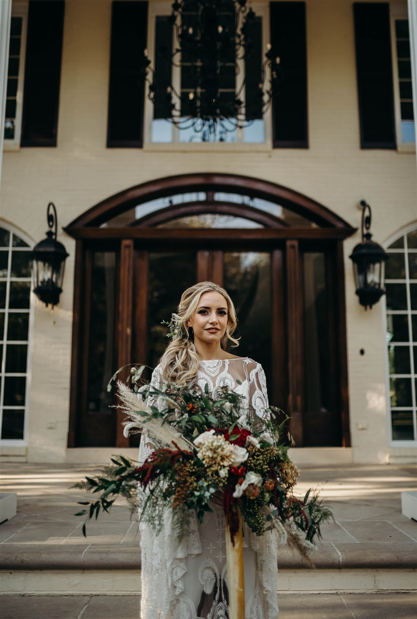 Bridal Bouquet for Boho Winter Wedding featured on Nashville Bride Guide