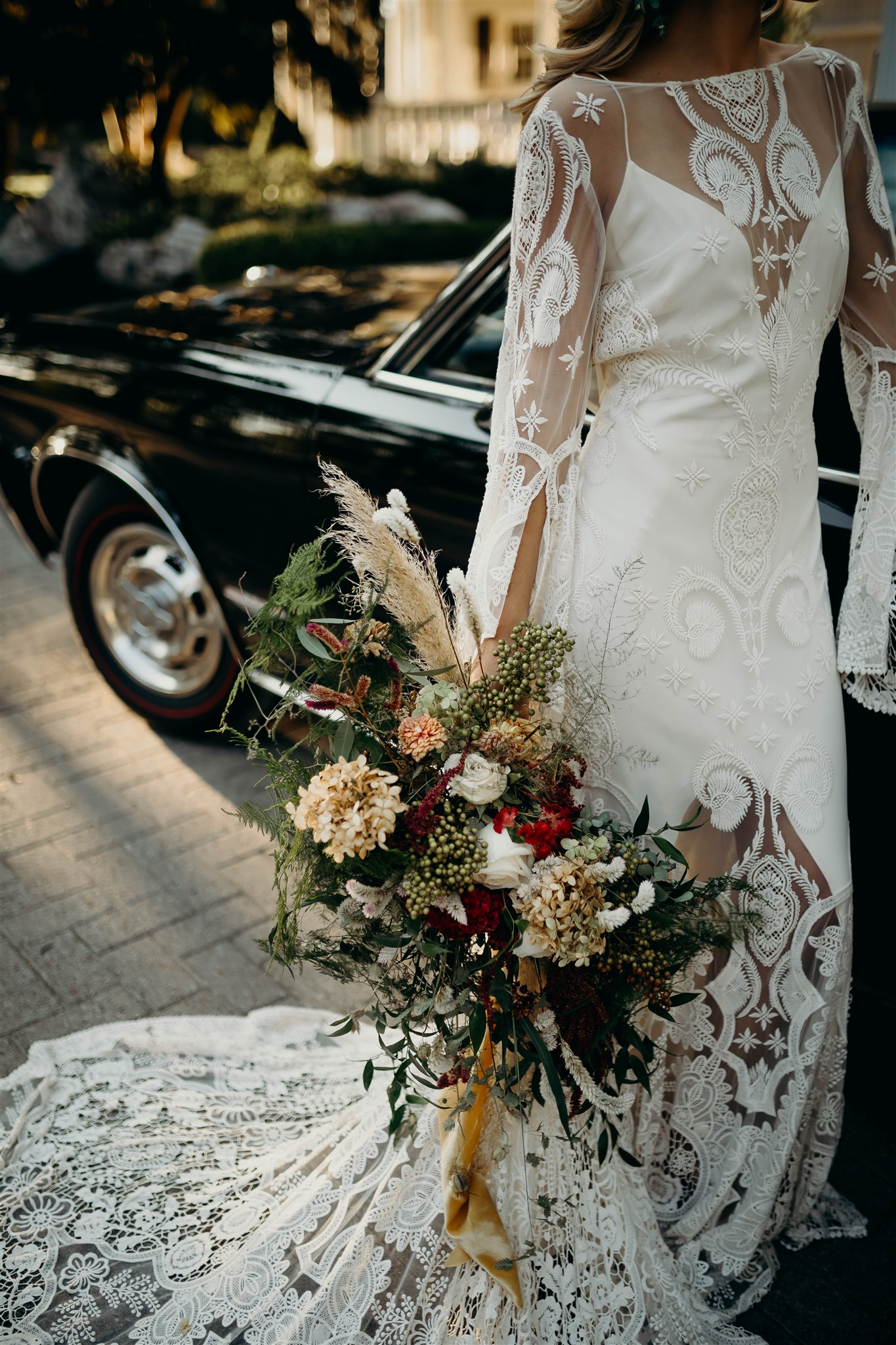 Mansion and Marsh Wedding Bouquet Design featured on Nashville Bride Guide
