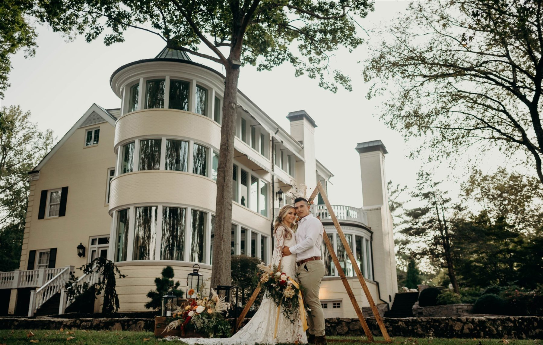Winter Boho Wedding Styled Shoot featured on Nashville Bride Guide!