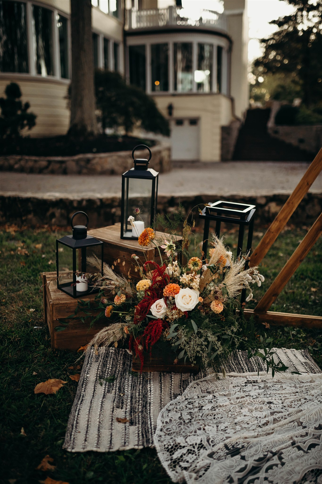 Winter Boho Wedding Decor for Styled Shoot featured on Nashville Bride Guide!