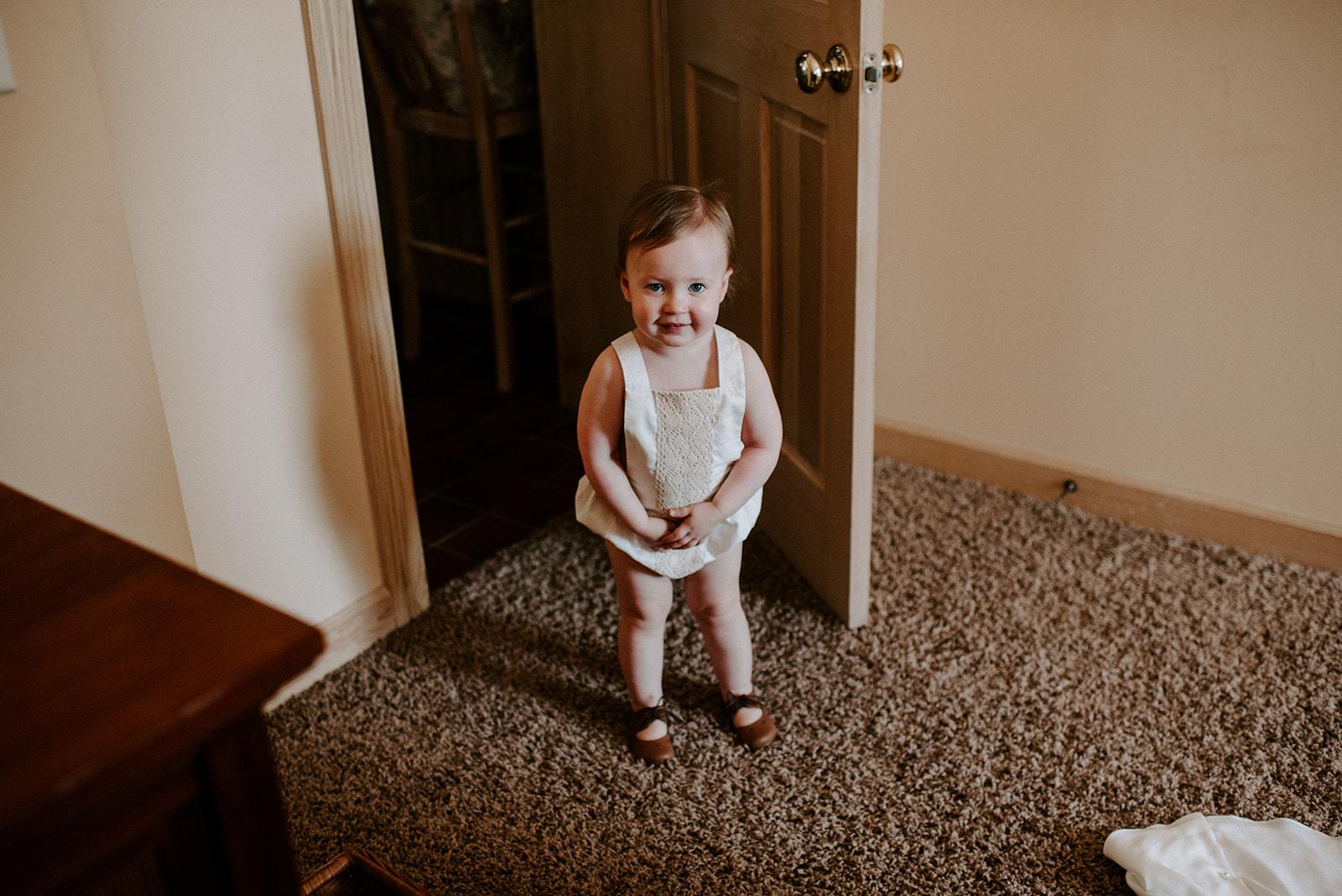 Flower girl attire: Nashville wedding featured on Nashville Bride Guide
