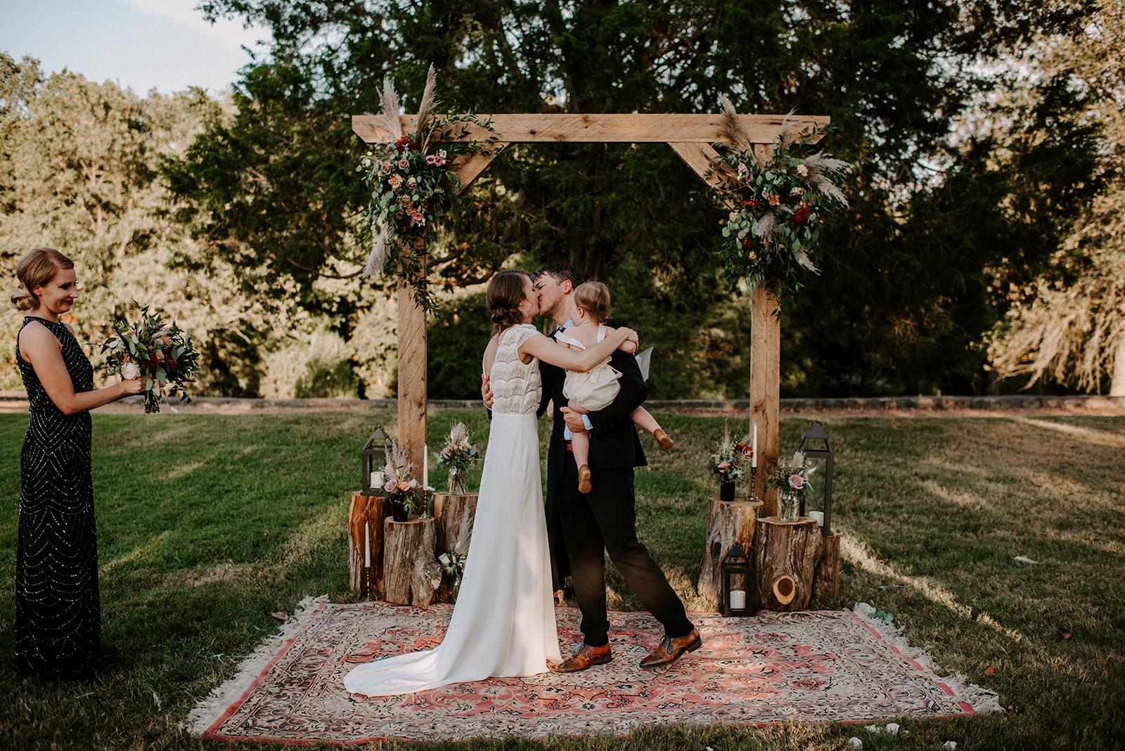 Intimate Cedermont Farm Wedding Ceremony