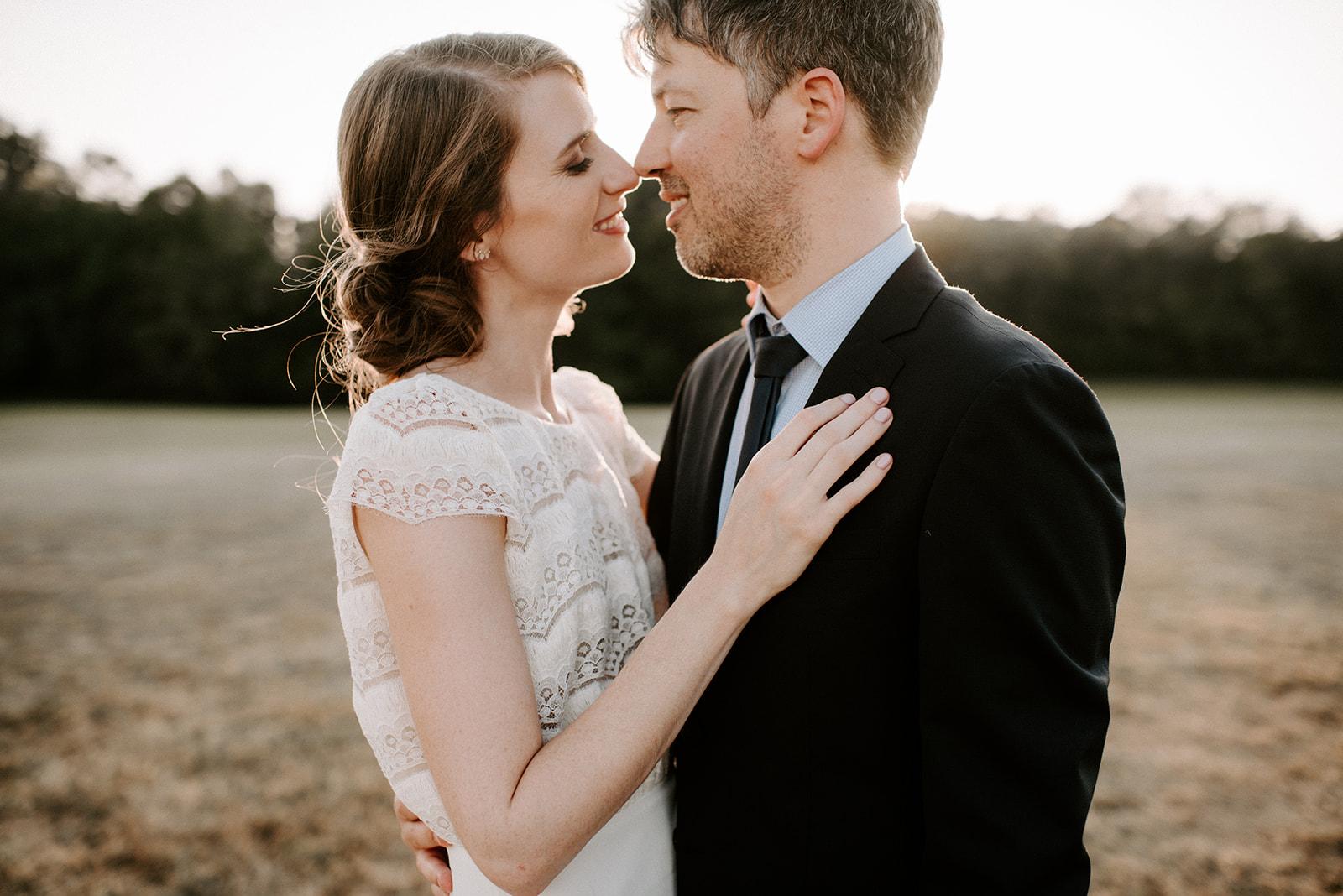 Savannah Ashley Photography: Golden hour wedding photos