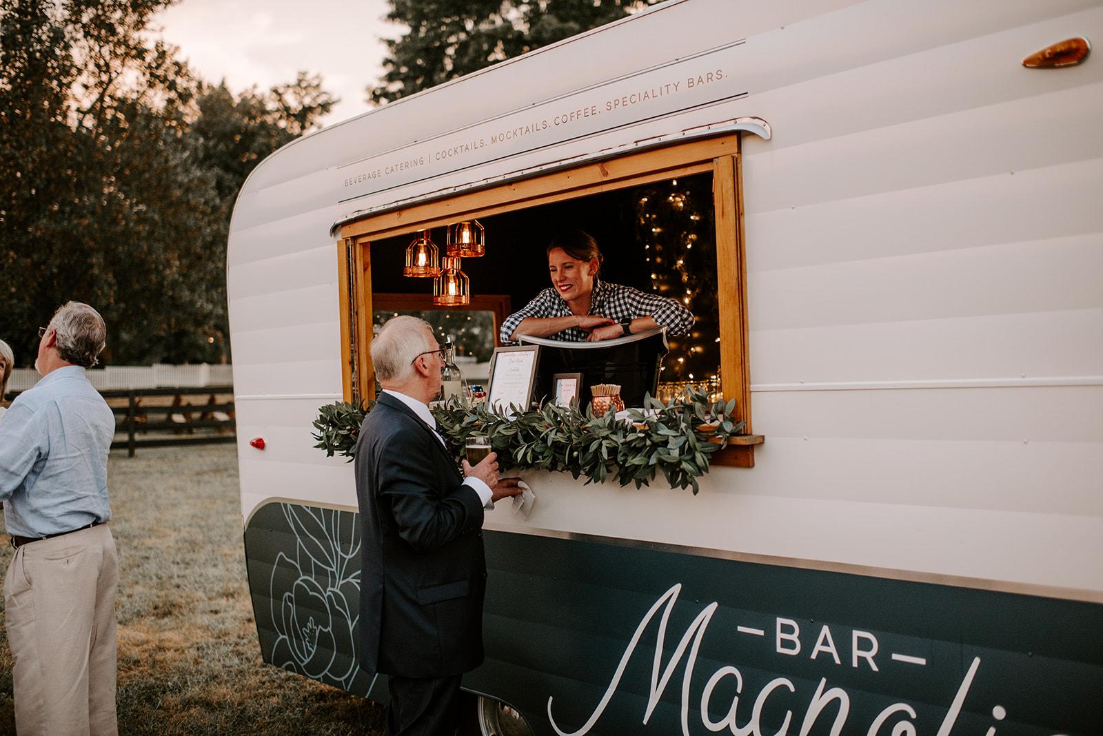 Bar Magnolia: Elegant Boho Wedding at Cedermont Farm