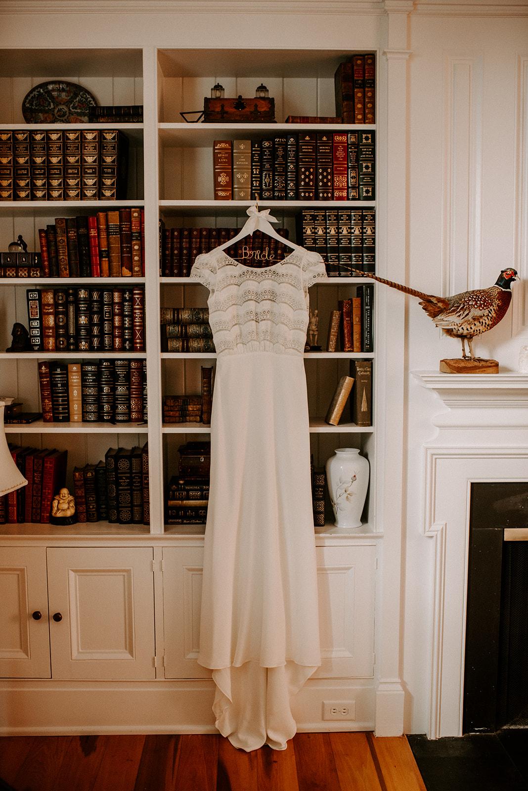 Boho wedding dress for Cedarmont Farm Wedding featured on Nashville Bride Guide!