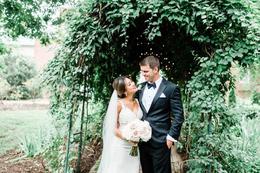 Elegant Riverwood Mansion wedding featured on Nashville Bride Guide