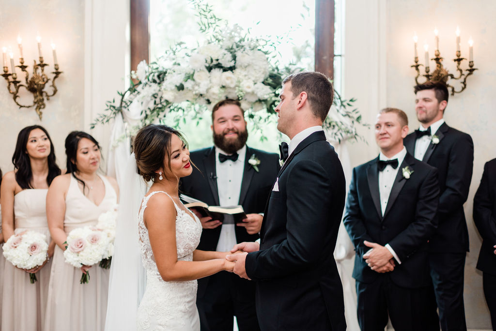 Nashville wedding ceremony captured by Maria Gloer Photography