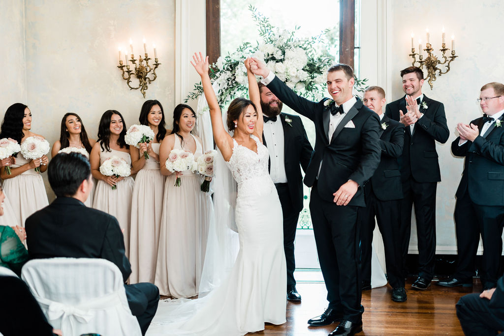 Elegant Riverwood Mansion wedding featured on Nashville Bride Guide