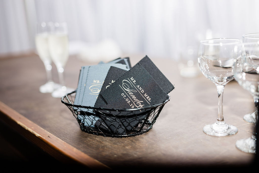 Nashville wedding favors captured by Maria Gloer Photography