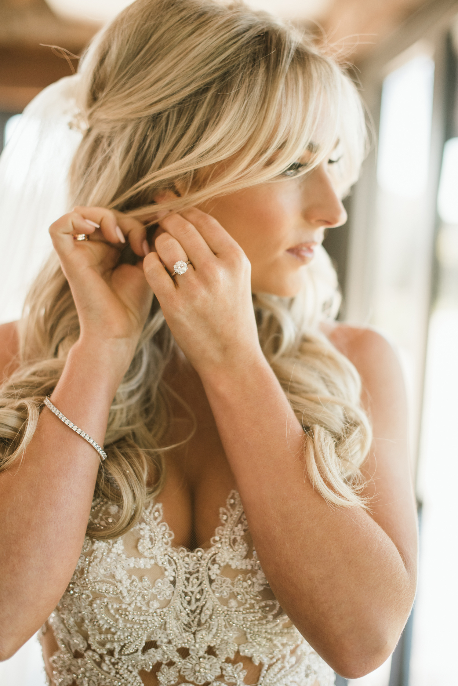Bridal Portrait: Upscale Marble Graystone Quarry Wedding featured on Nashville Bride Guide