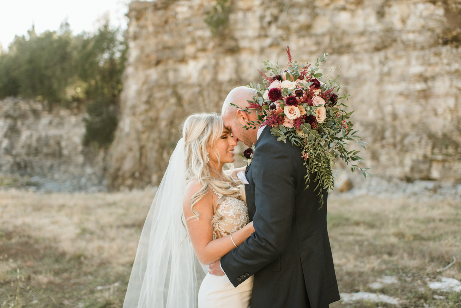 Upscale Marble Graystone Quarry Wedding featured on Nashville Bride Guide