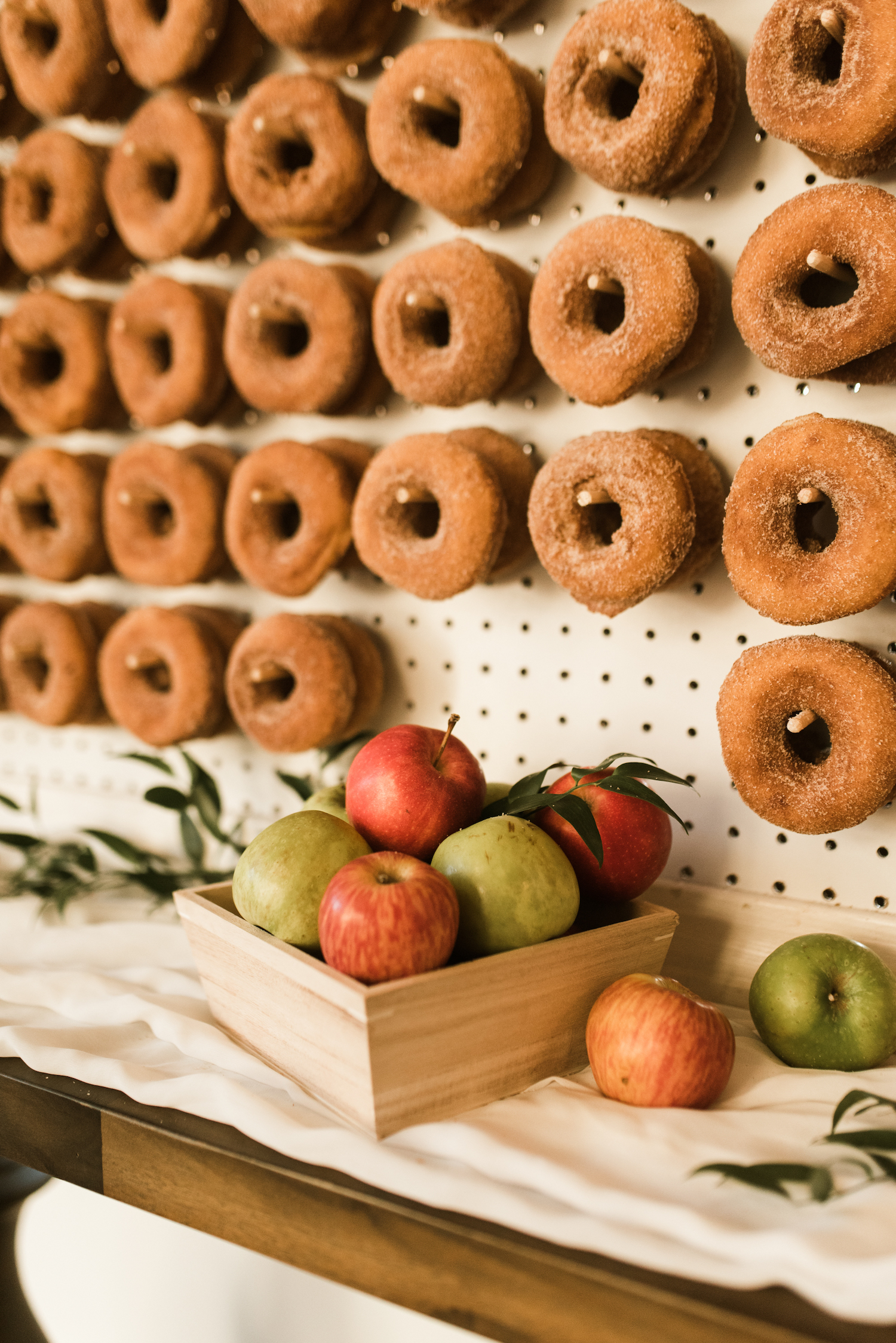 Wedding Donut Wall Dessert Display: Upscale Marble Graystone Quarry Wedding featured on Nashville Bride Guide by Shelby Rae Photographs