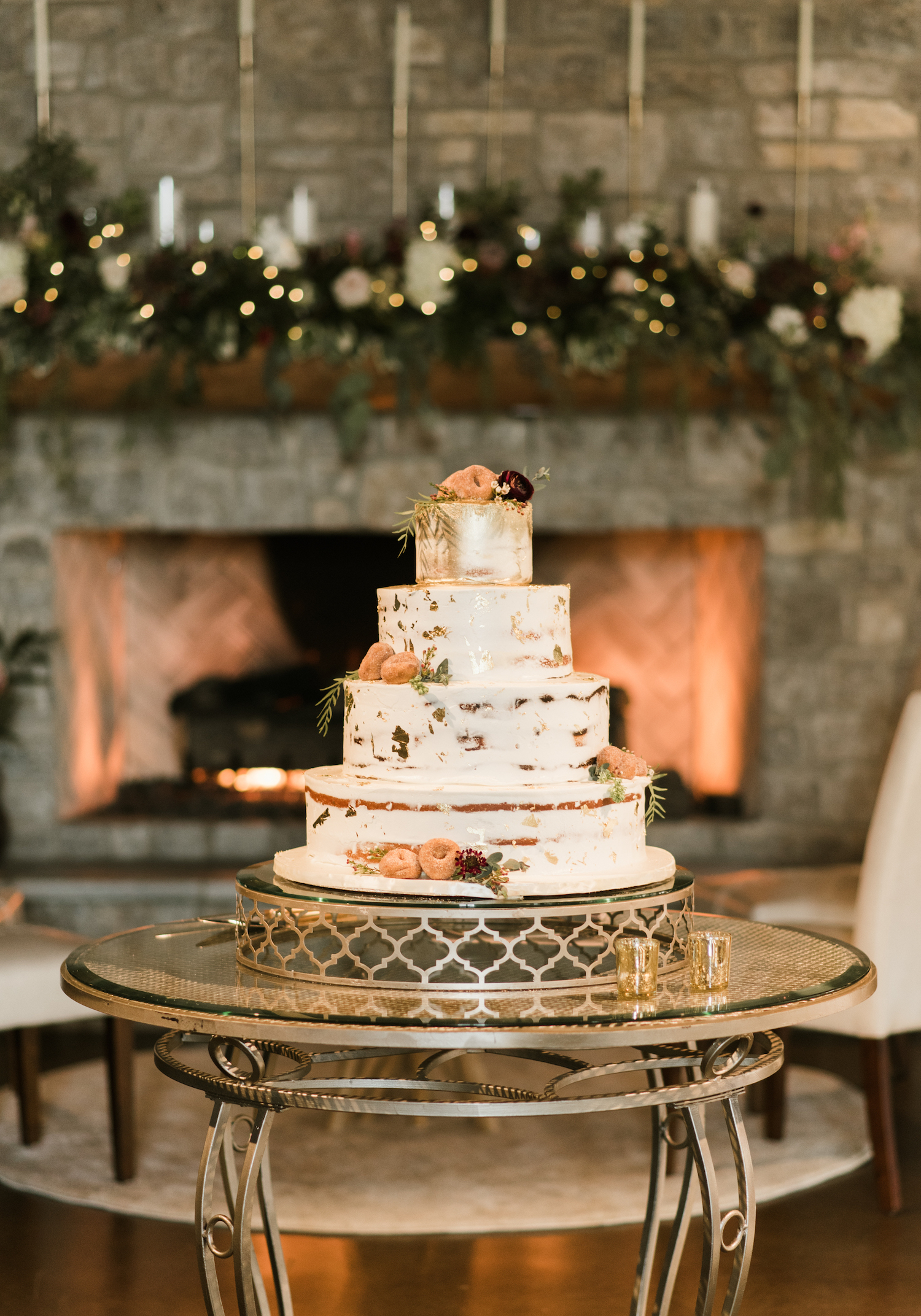 Wedding Cake Design: Upscale Marble Graystone Quarry Wedding featured on Nashville Bride Guide by Shelby Rae Photographs
