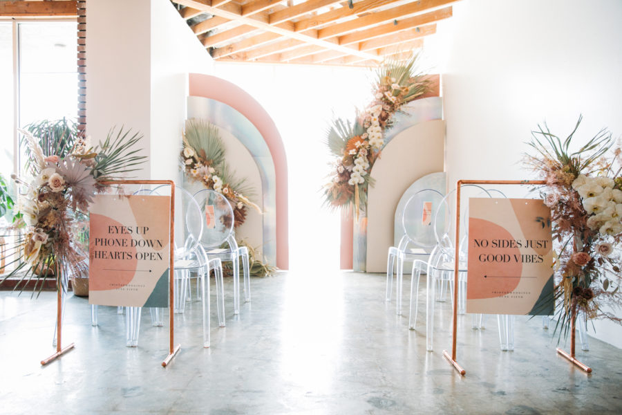 Wedding Ceremony Signs from Minted Weddings