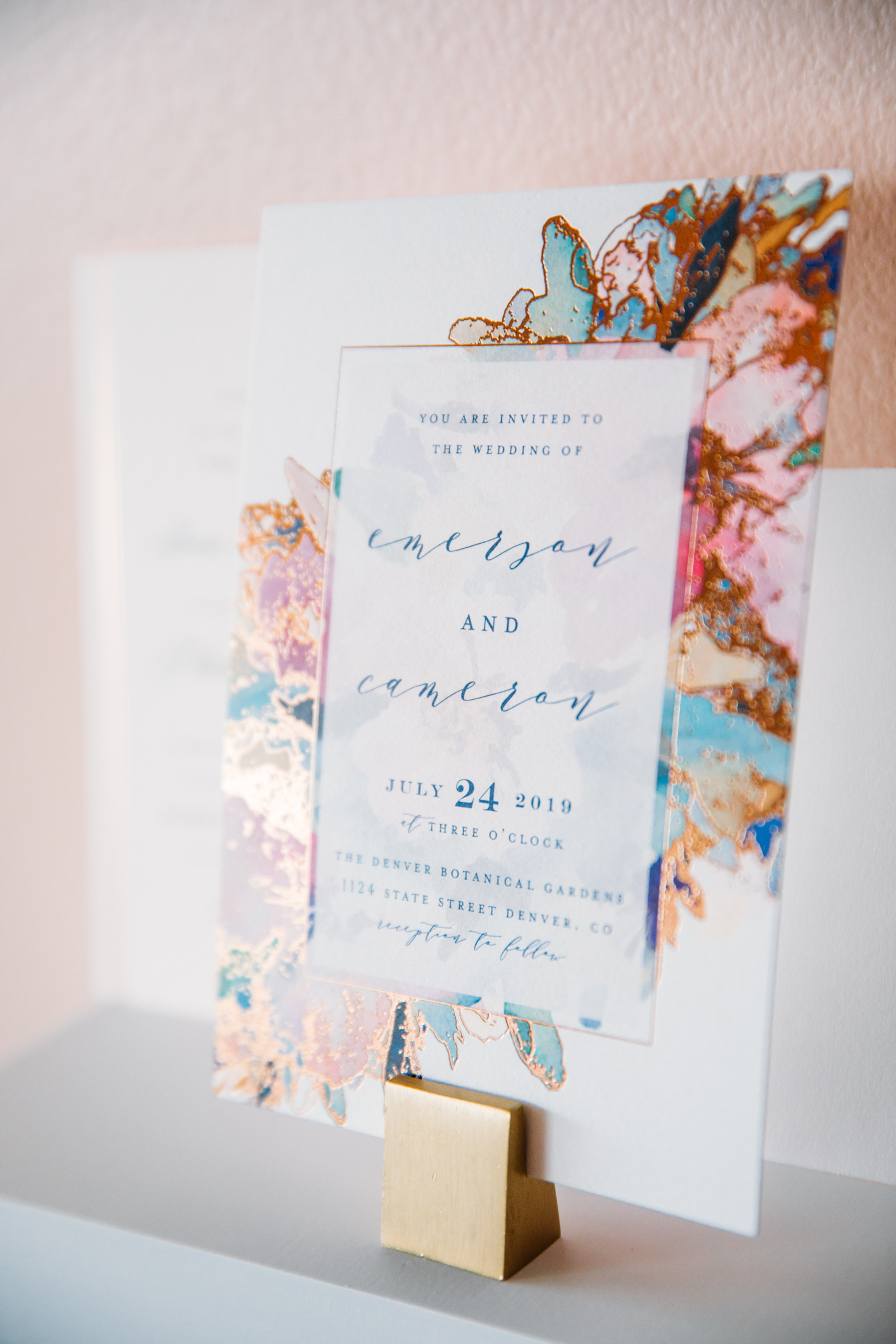 Wedding Schedule Sign
