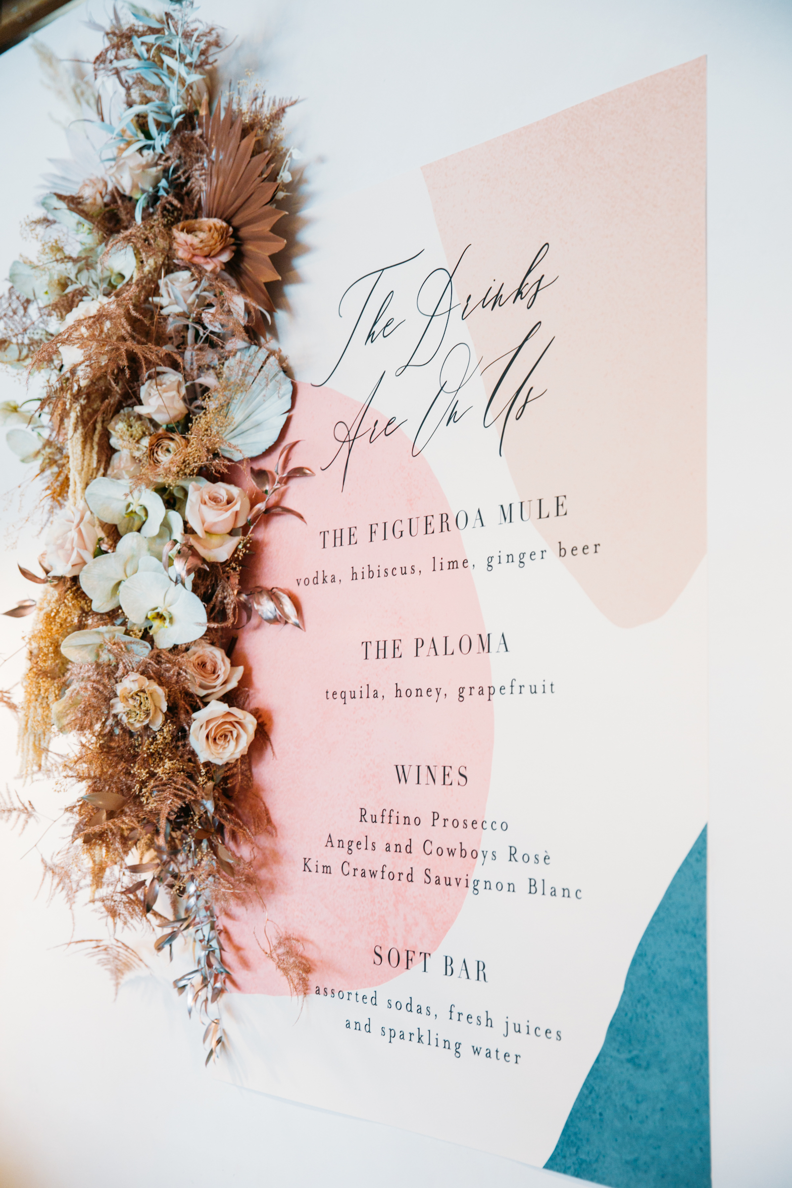 Wedding Direction Signs from Minted Weddings