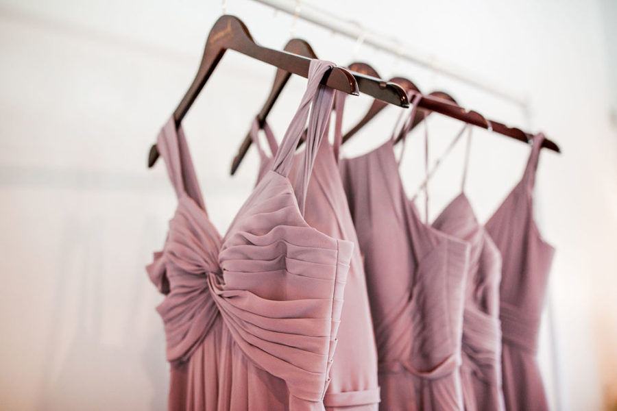 Mauve Bridesmaid Dresses: Beautiful Graystone Quarry Wedding captured by John Myers Photography & Videography