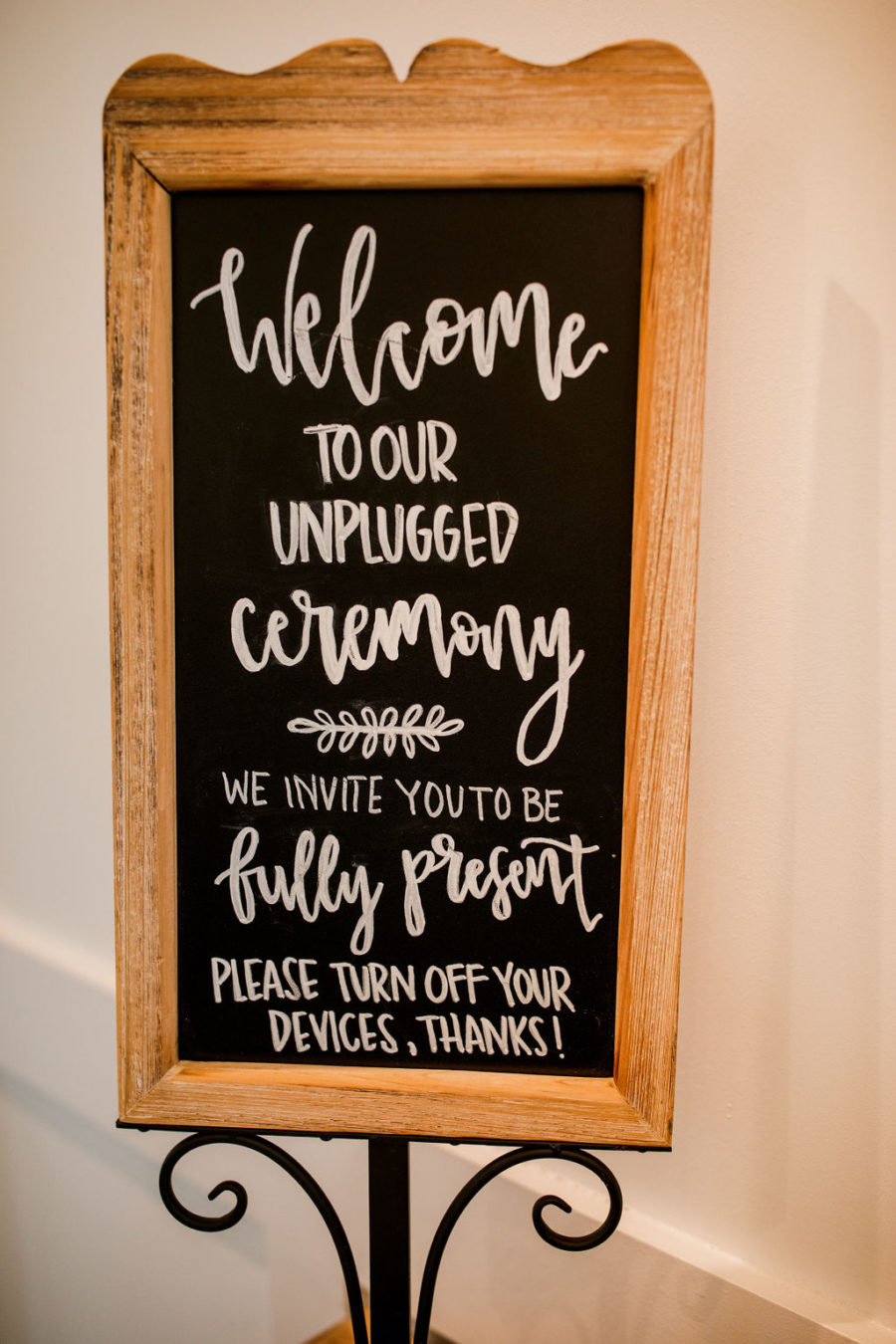 Wedding Ceremony Sign: Beautiful Graystone Quarry Wedding captured by John Myers Photography & Videography