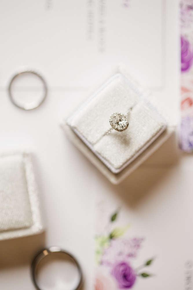 Wedding Ring Detail Shot captured by Amanda May Photos featured on Nashville Bride Guide